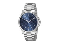 Gucci G Timeless Large Blue Dial Steel Bracelet Steel Blue Watches Silver