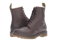 Dr. Martens Serena 8 Eye Boot Dark Brown Burnished Wyoming Women's Lace Up Boots