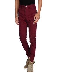 Voi Jeans Trousers Casual Trousers Men Maroon