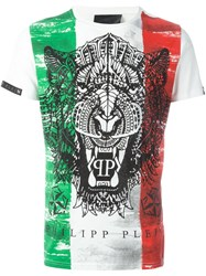 Philipp Plein 'Italian Job' T Shirt White