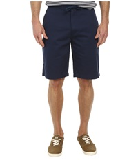 Dockers Pacific On The Go Classic Flat Front Shorts Faded Navy Men's Shorts