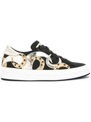 Philippe Model Moon Patch Sneakers Black