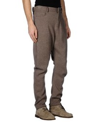 Dandg D And G Casual Pants Light Brown