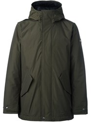 Woolrich Hooded Jacket Green