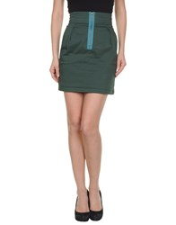 L'autre Chose L' Autre Chose Skirts Mini Skirts Women Green