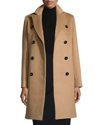 Cinzia Rocca Double Breasted Camel Hair Coat