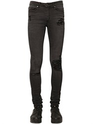 Cheap Monday 15.5Cm Washed Stretch Cotton Denim Jeans