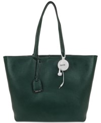 Kenneth Cole Reaction Clean Slate Tote With Retractable Earbuds Bottle Green