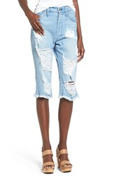 Women's James Jeans Distressed Bermuda Shorts Joy Ride