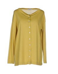 Base London Base Knitwear Cardigans Women Acid Green