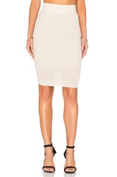 Callahan Pencil Midi Skirt Beige