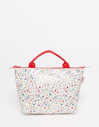 Cath Kidston Ladybird Large Lunch Tote White