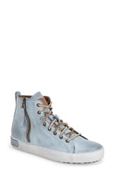 Women's Blackstone 'Jl' High Top Sneaker Sky Blue