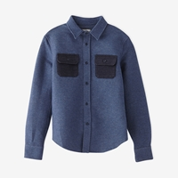 Band Of Outsiders Flannel Work Shirt Indigo