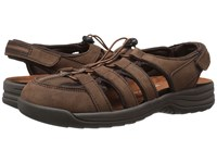 Drew Shoe Element Brown Nubuck Women's Sandals