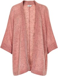 Soaked In Luxury Alpaca Blend Oversized Cardigan Pink