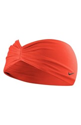 Nike 'Central' Headband Red Crimson Black