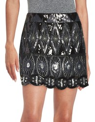 Romeo And Juliet Couture Embellished Mini Skirt