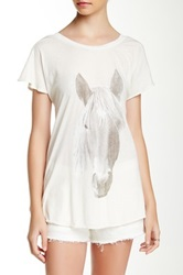 Wildfox Couture Horse Tee White