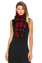 Scotch And Soda Classic Scarf Red