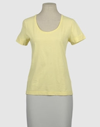 Gentryportofino Short Sleeve T Shirts Yellow