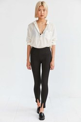 Silence And Noise Talia Split Ankle Skinny Pant Black