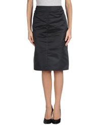 Valentino Roma Knee Length Skirts Black