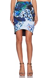 Backstage Harper Skirt Blue