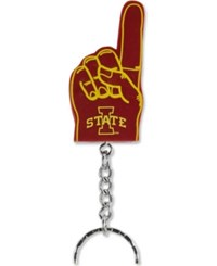 Forever Collectibles Iowa State Cyclones 1 Finger Keychain Team Color