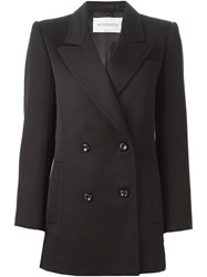Viktor And Rolf Classic Double Breasted Blazer Black