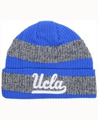 Adidas Ucla Bruins Player Watch Knit Hat Blue Heather Gray