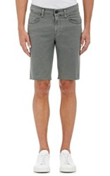 J Brand Men's Tyler Stretch Cotton Slim Shorts Dark Green