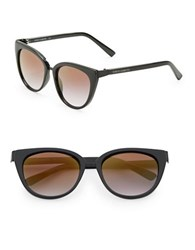 Vince Camuto 60Mm Cats Eye Sunglasses Black