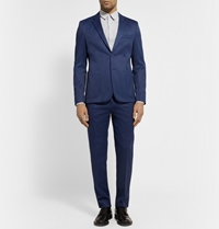 Acne Studios Navy Stan Slim Fit Cotton Blend Twill Suit Jacket Mr Porter