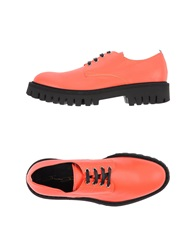 Bruno Bordese Lace Up Shoes Orange