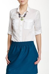 J.Crew Factory Indian Voile Shirt Multi