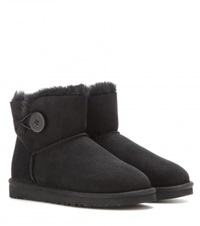 Ugg Mini Bailey Button Boots Black