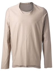 Individual Sentiments Long Sleeve Top Nude And Neutrals