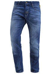 Meltin Pot Melton Straight Leg Jeans Blue Denim