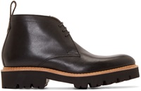 Grenson Black Leather Marrius Boots