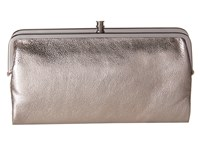Hobo Lauren Hematite Clutch Handbags Silver