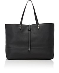 Tomas Maier Women's Leather Tote Black