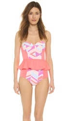 Zinke Starboard Swimsuit Summer Chevron