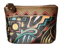 Anuschka 1031 Antique Aztec Handbags Brown