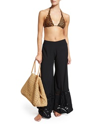 Vix Swimwear Vix Capri Straw Beach Bag Natural