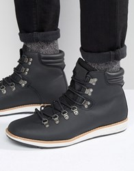Call It Spring Valsalega Laceup Boots Black