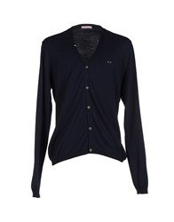 Sun 68 Knitwear Cardigans Men Dark Blue