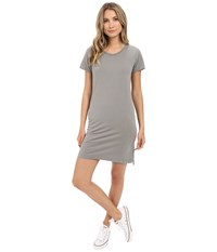Alternative Apparel Legacy T Shirt Dress Concrete Women's Dress Multi