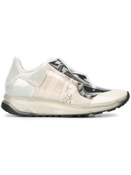 Maison Martin Margiela Transparent Concealed Vamp Sneakers Nude And Neutrals