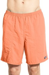 Men's Patagonia 'Baggies Longs' Swim Trunks Lite Cusco Orange